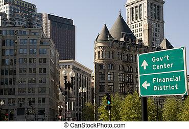 Architecture in Downtown Boston