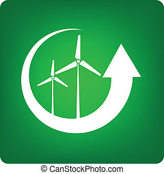 recycle - windmill as an alternative energy