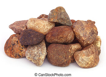 Pile of Stones as building material