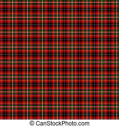 Clan Innes of Moray Tartan - A seamless patterned tile of...