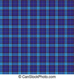 Clan Kirkcaldy Tartan - A seamless patterned tile of the...
