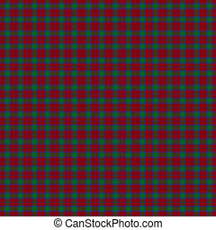 Clan Lindsay Tartan - A seamless patterned tile of the clan...
