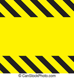Caution Construction background - Simple caution...
