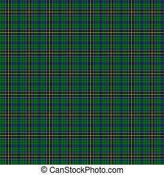 Clan MacAlpine Tartan - A seamless patterned tile of the...