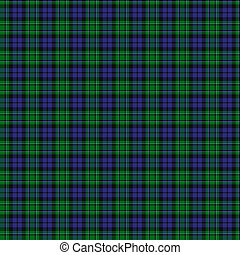 Clan MacCallum Tartan - A seamless patterned tile of the...