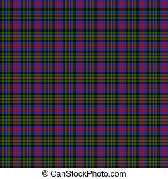 Clan MacCallum of Berwick Tartan - A seamless patterned tile...