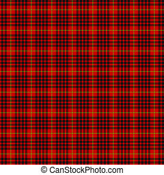 Clan MacDonald of Ardnamurchan Tartan - A seamless patterned...