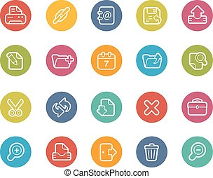 Web Interface Icons - Vector icons for your web, mobile or...