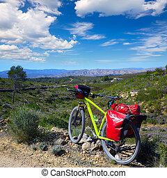 ciclismo, turismo, MTB, bicicleta, en, Pedralba, VALENCIA,...