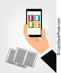 app for a job