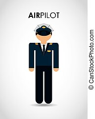 air pilot design, vector illustration eps10 graphic