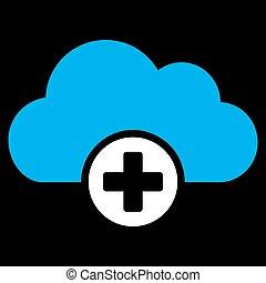 Cloud Medicine Icon