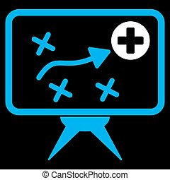 Health Strategy Icon - Health Strategy vector icon Style is...