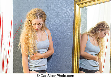 Fit Female With Blonde Hair And Blue Eyes - Fit caucasian...