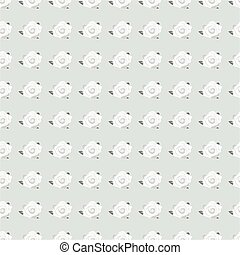 rose flower seamless pattern - black and white seamless...