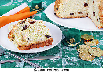 Irish Soda Bread for St Patricks Day - Fresh baked Irish...
