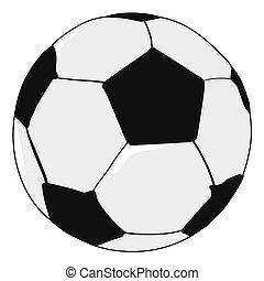 football ball - vector illustration of football ball, sport...