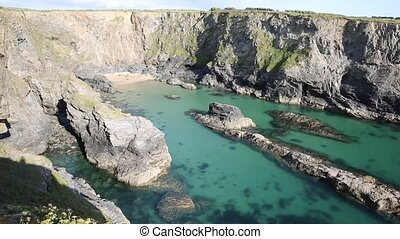 Fox Cove Cornwall coast Treyarnon - Fox Cove on the Cornwall...