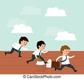 Business entrepreneur - Success concept, Business...