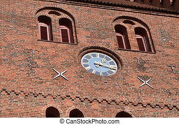 church clock ancient times