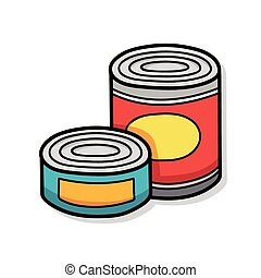 Canned food Clip Art Vector and Illustration. 4,024 Canned ...