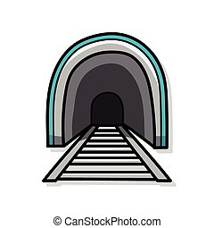 Tunnel doodle