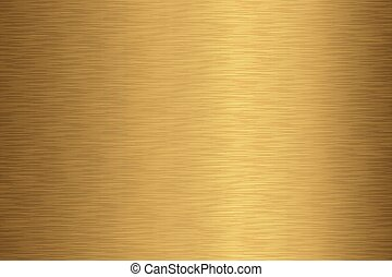 Brushed Gold Texture - Brushed gold metal background...