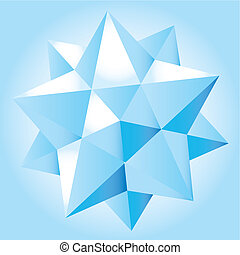 Op art vector illustration abstract 3D format
