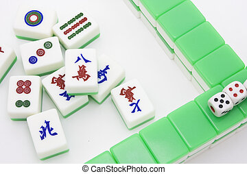 Chinese game similar to poker. Very popular gambling game.