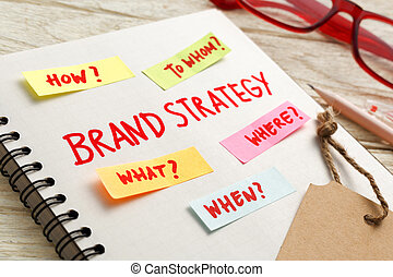 Brand strategy marketing concept - Brand marketing strategy...