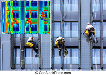 Infrared and real image window washers - Infrared...