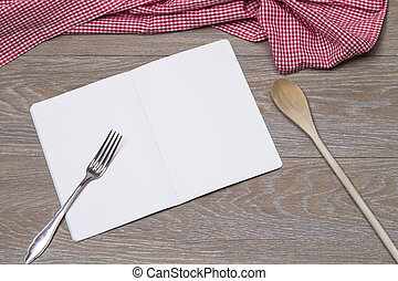 Booklet with spoon