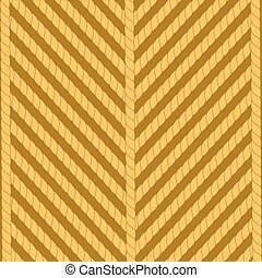 Rope Background - Striped Rope Ornamental Background Stong...