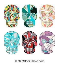 Skull Vector Set