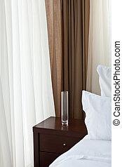 Modern bedroom. Design Concept.