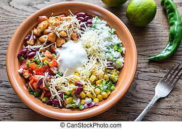 Chicken burrito bowl - Burrito bowl