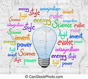 Invention bulb - Creative design of Invention bulb