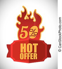 Special Offer design - Special Offer concept and sale icons...