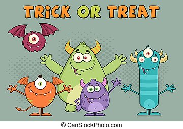 Happy Monsters Characters
