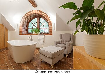 Luxurious bathroom lounge - Picture of luxurious stylish...