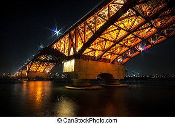 Seongsan Bridge over Han River - Seongsan Bridge over Han...