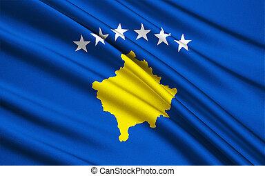 Flag of Kosovo - The flag of the Republic of Kosovo was...
