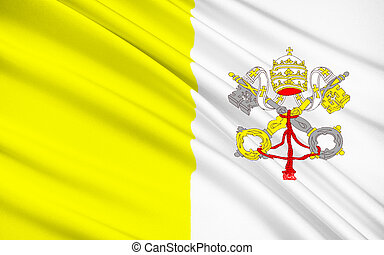 Flag of Vatican City - The flag of Vatican City was adopted...