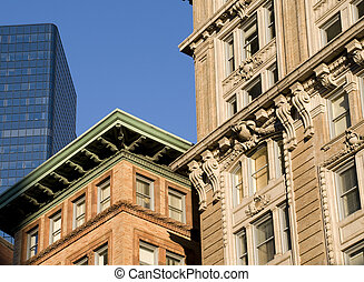 Various Boston Architectural Styles
