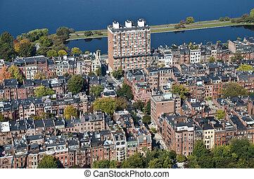Back Bay in Boston