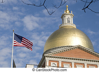 Boston Massachusetts Statehouse