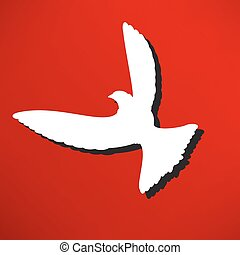 Dove of Peace illustration