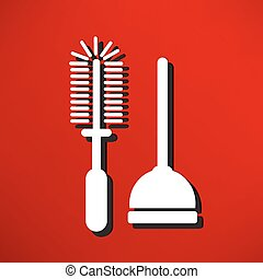 Plunger Vector Illustration