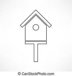 bird-house icon