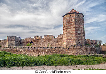 Medieval Akkerman fortress near Odessa in Ukraine - Ancient...